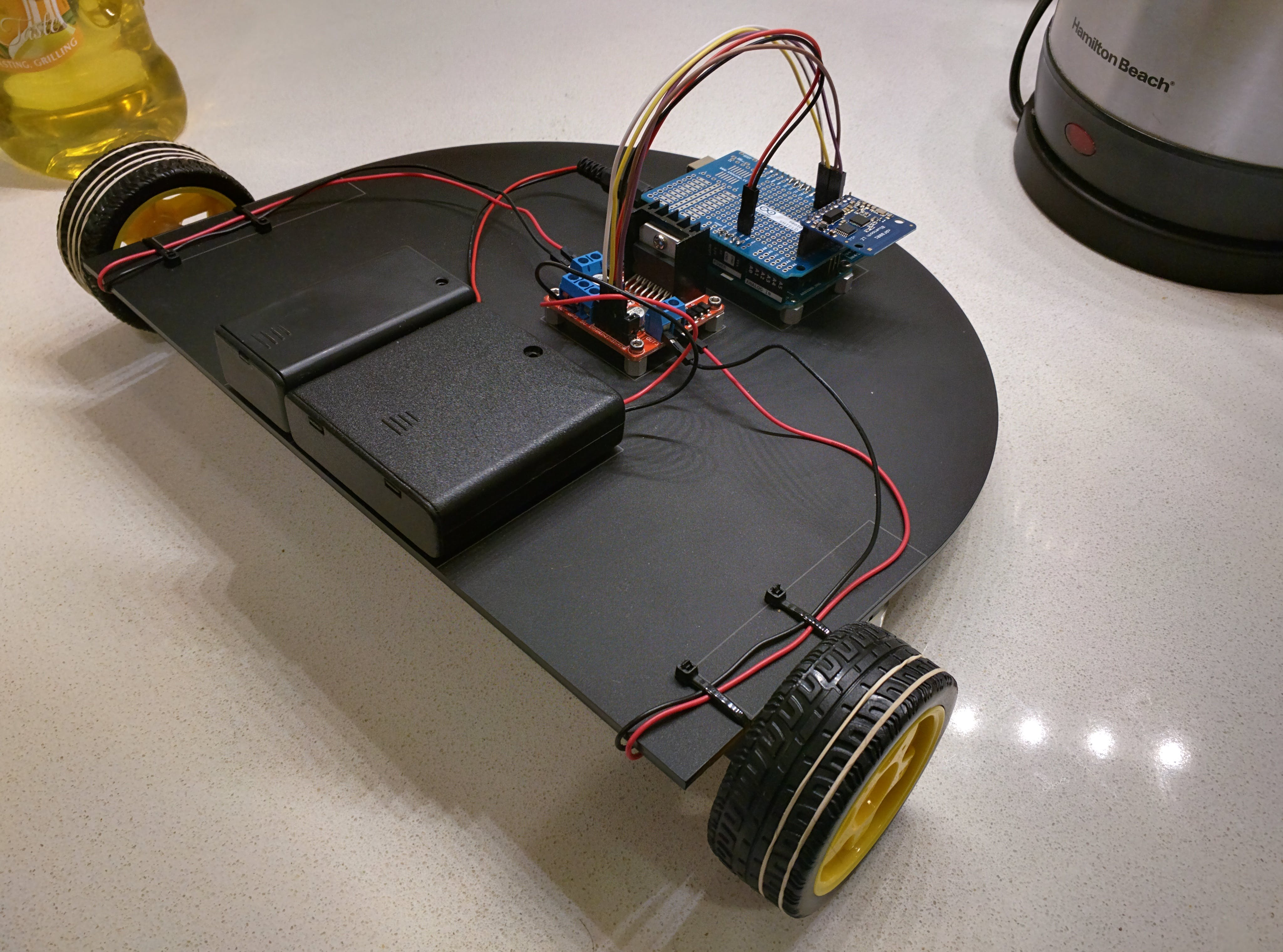 HW 7: Bluetooth Controlled Vehicle