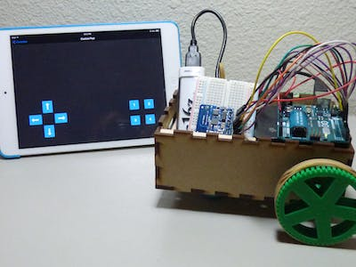 Arduino Bluetooth Controlled Vehicle
