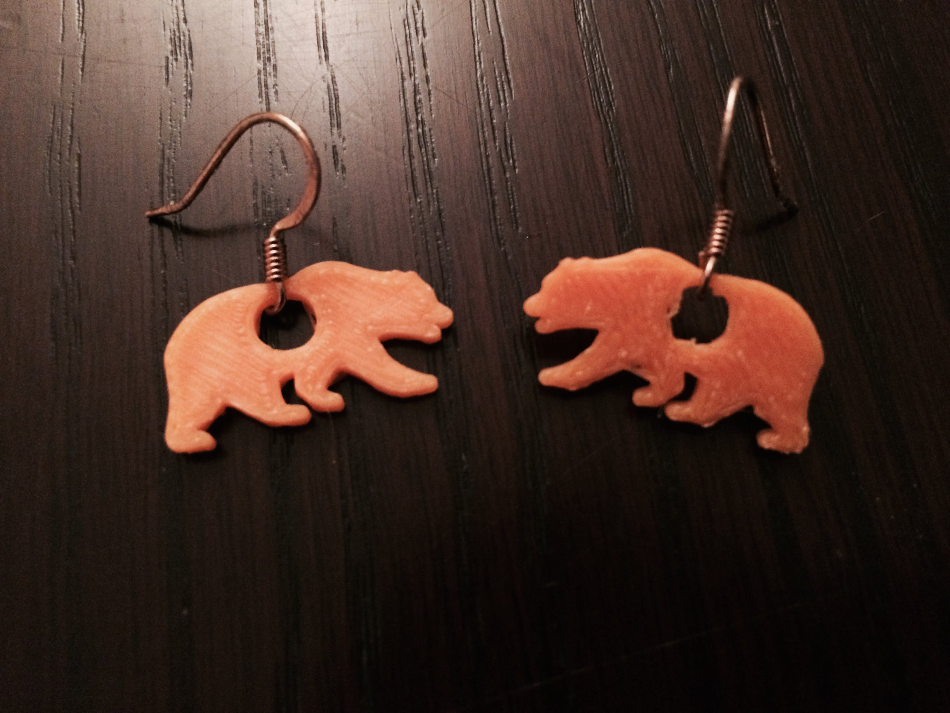 Cal Bear Earrings