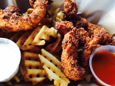 Chicken & Waffle Fries