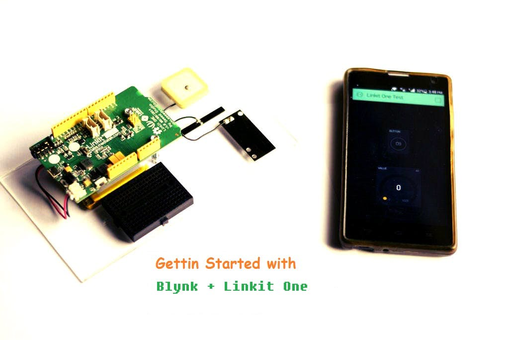 Getting started with Blynk + Linkit One