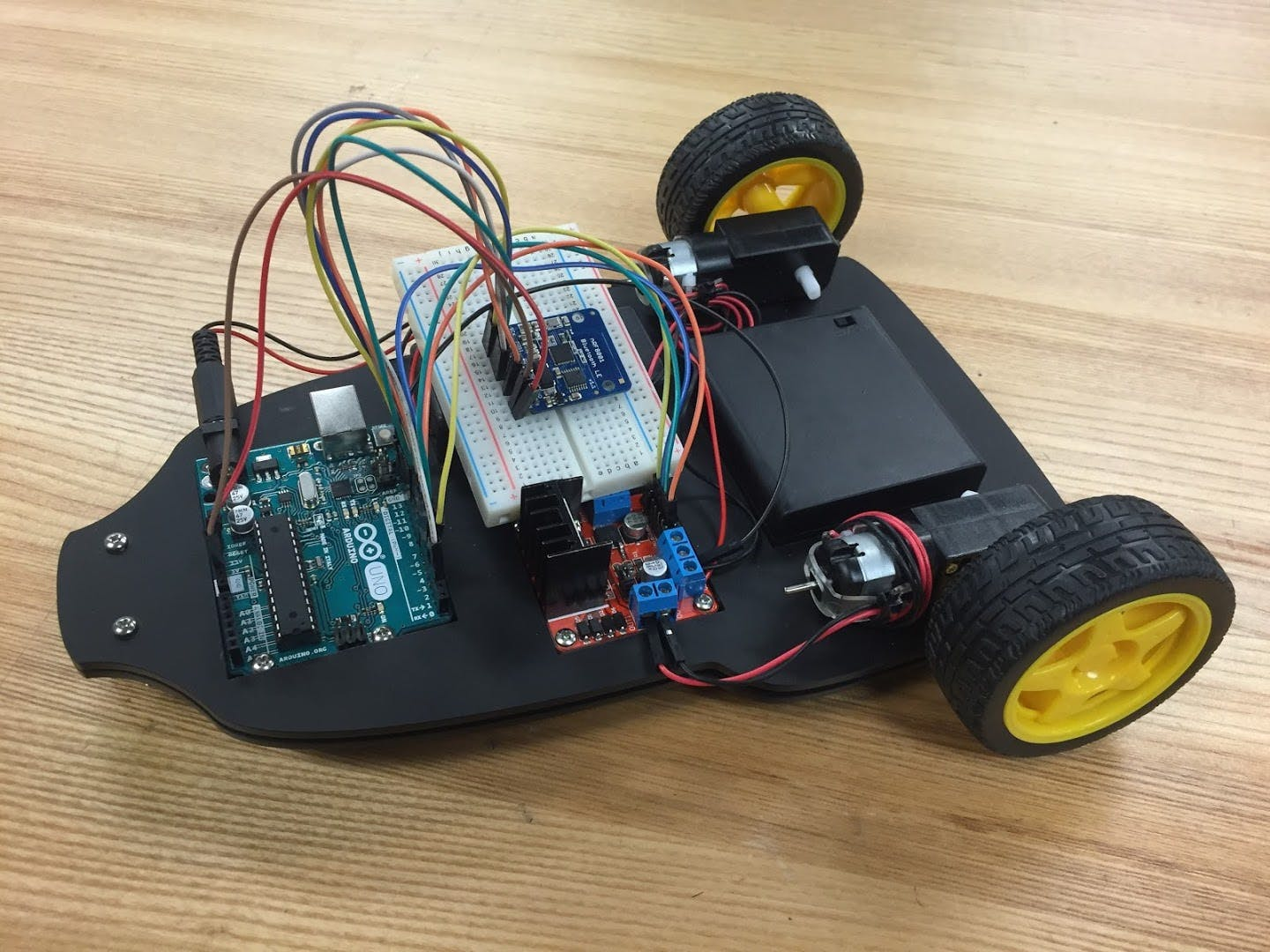 HW 07: Bluetooth Controlled Vehicle