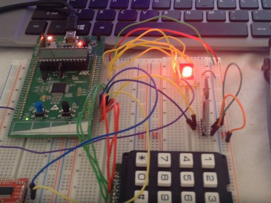 STM32: 4. UART & KeyPad communication (Bluetooth)