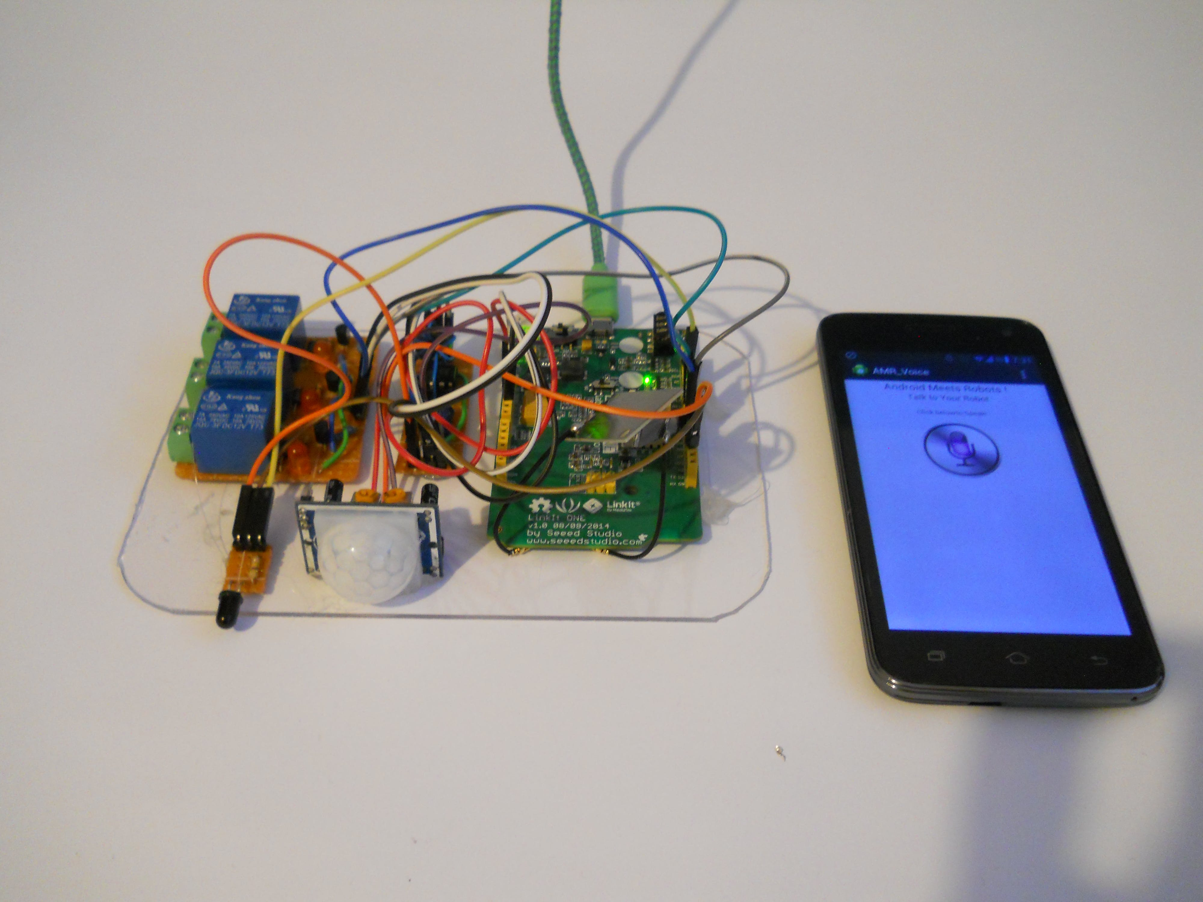 Voice Controlled Home Automation and Security System