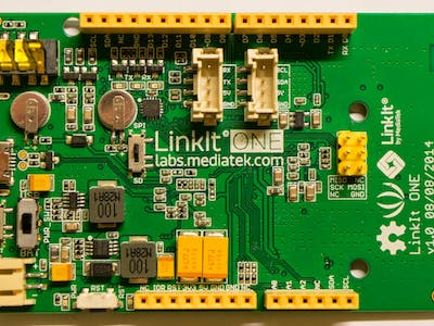 How to charge the MediaTek LinkIt ONE battery