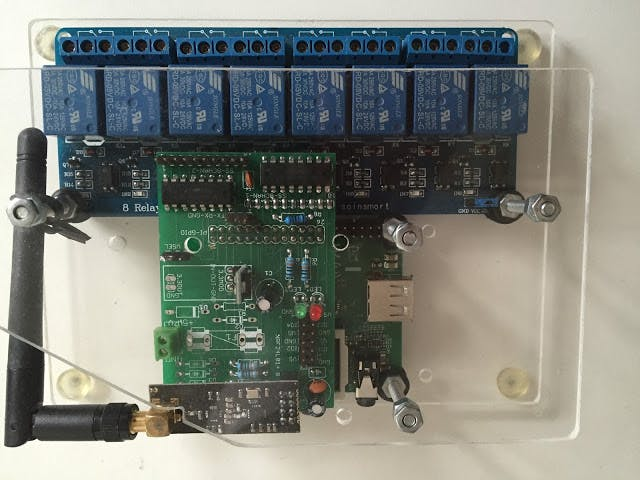 Raspberry PI controller for home/business automation.