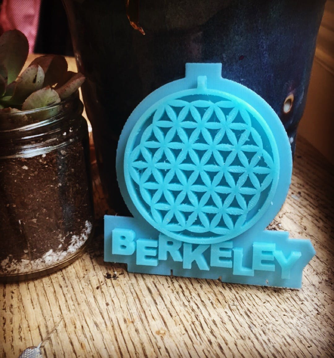 Berkeley Flower of Life Pendant