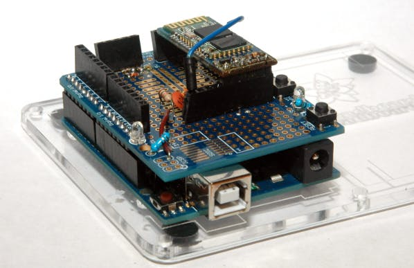 Arduino Bluetooth Programming Shield (Wireless Upload Code)