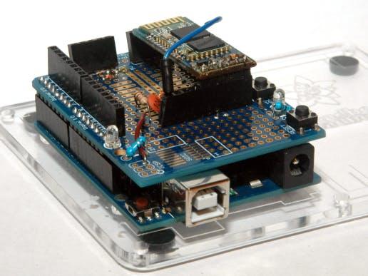 Arduino bluetooth programming shield wireless upload code
