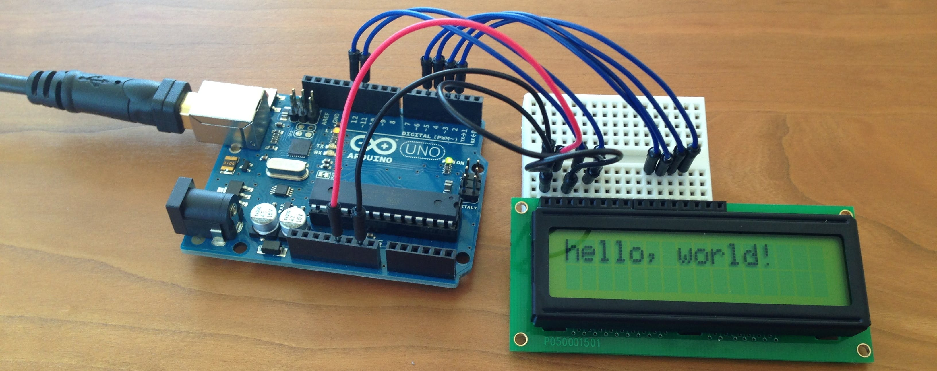 Lcd Display in Real Time.