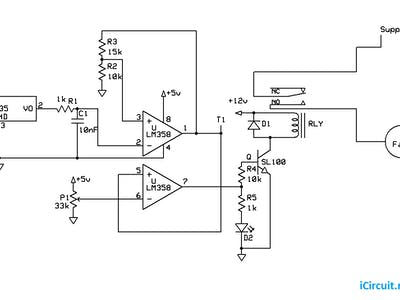 Temperature Based Fan controller