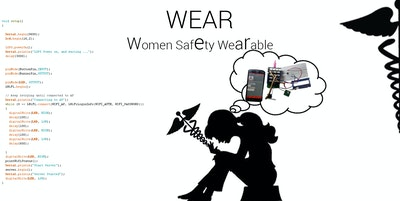 WEAR : One Click Smart Women Safety Wearable Button