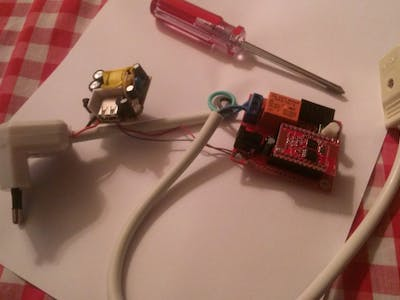 A WiFI-enabled cord switch with the ESP8266 in 10 minutes