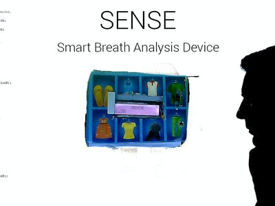 SENSE : Smart Breath Analysis Device (A Smart Breathalyzer)