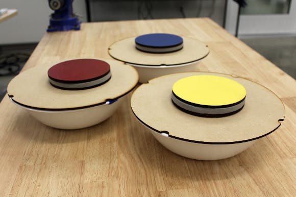 Final tupperware inspired buttons! They're on Cloyne's bowls.