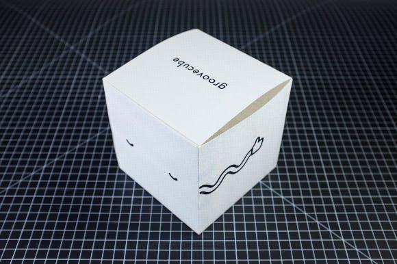 Groovecube packaging!