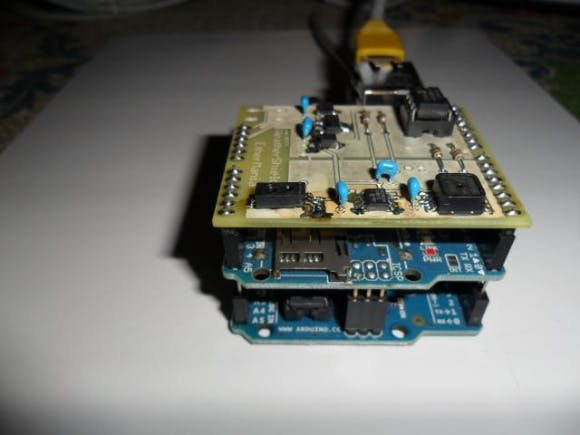Arduino and its shields