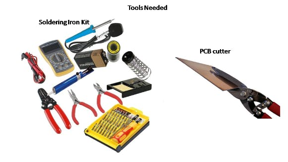Tools for making Base shield and Voltage divider network