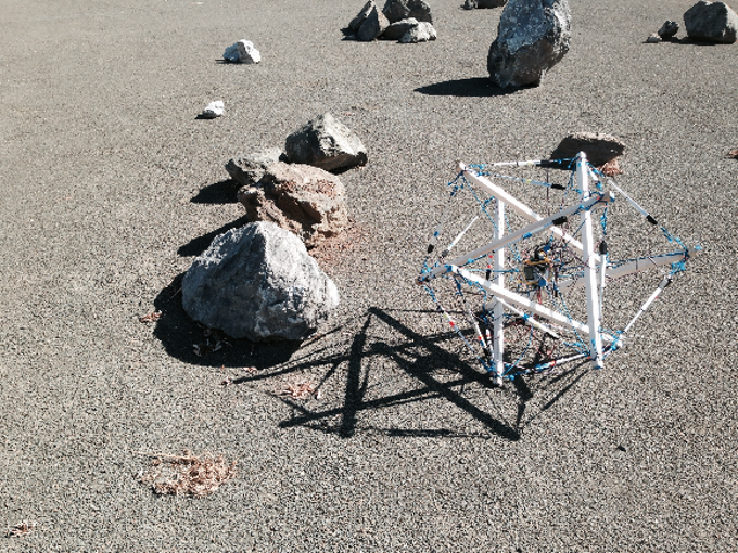 NASA tensegrity mars rover