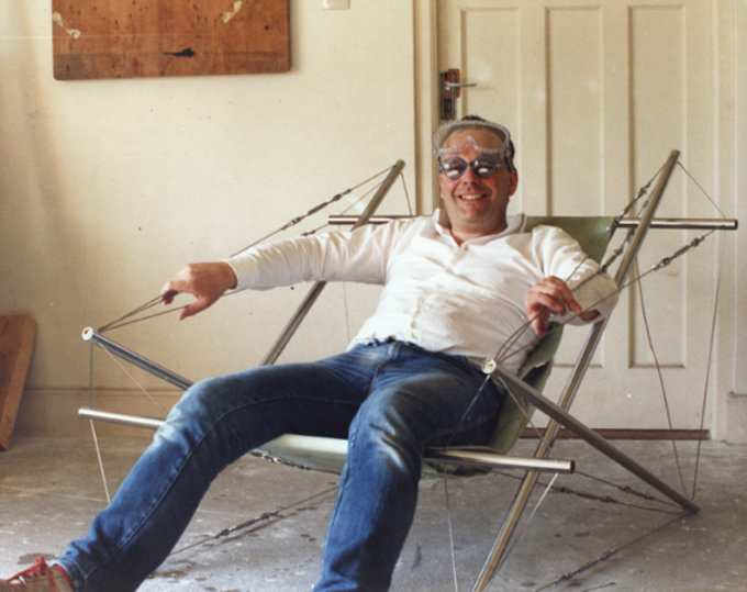 John Frazer tensegrity chair