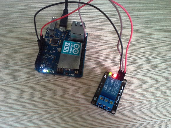 Test the functionality of Relay Module