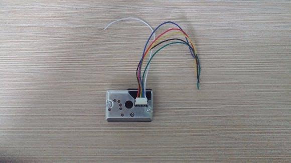 GP2Y1010AU0F Sharp Dust Sensor