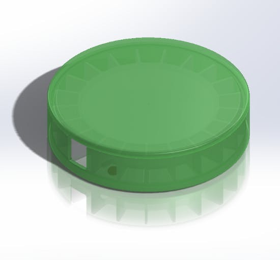 Pillbox CAD design