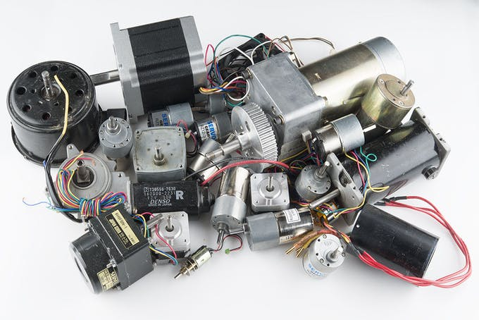 Complete motor guide for robotics for Types of motors used in robotics pdf