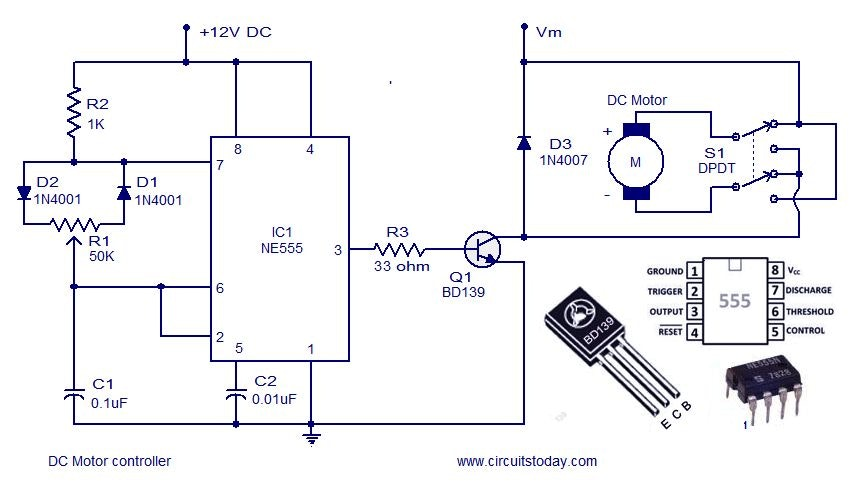 complete motor guide for robotics hackster io rh hackster io 12V DC Fans AC Switch Wiring