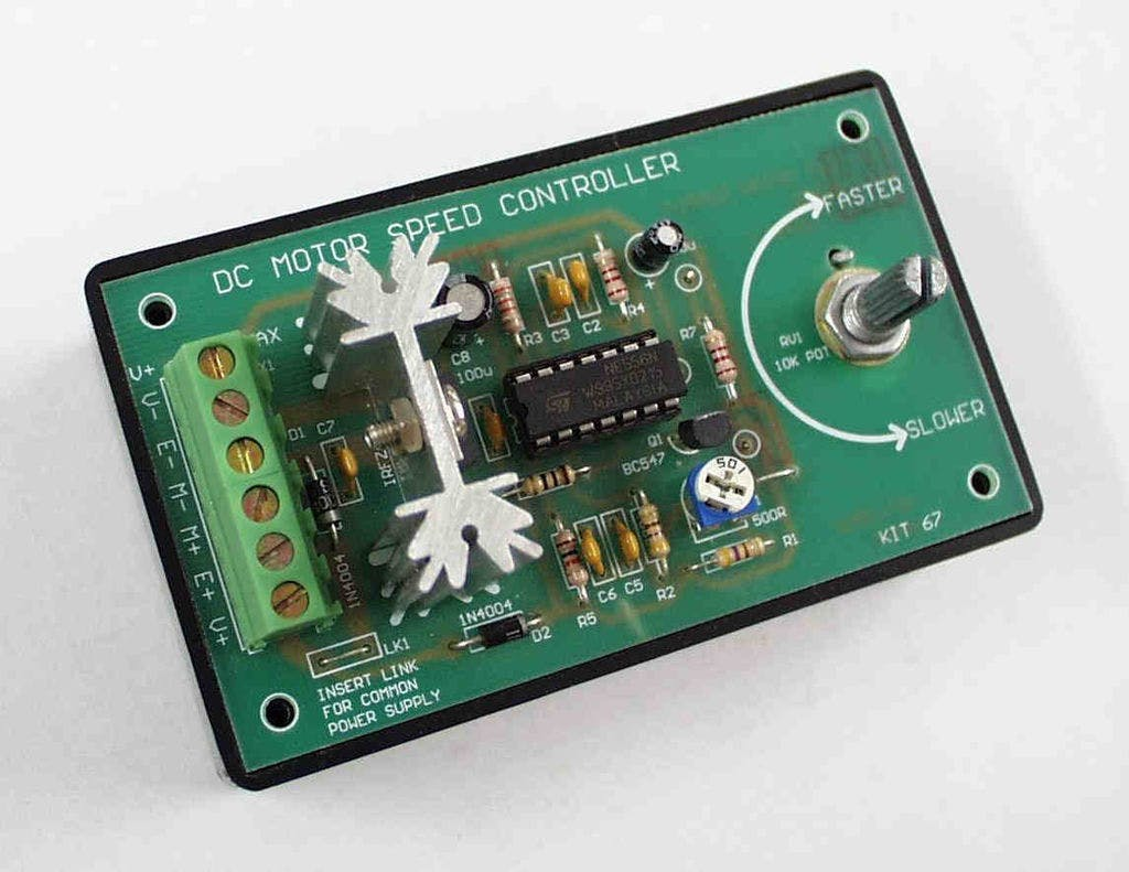 Complete Motor Guide For Robotics Speed Controller Circuit That Can Be Used Varying The