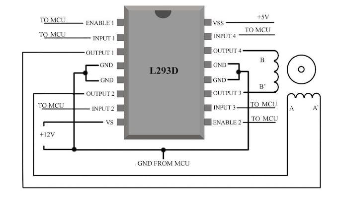Complete motor guide for robotics for L293d motor driver datasheet