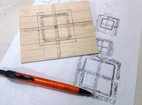 Designing the window for wall framework