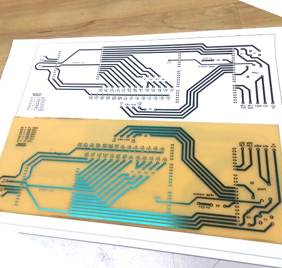 Printed circuit board for this system