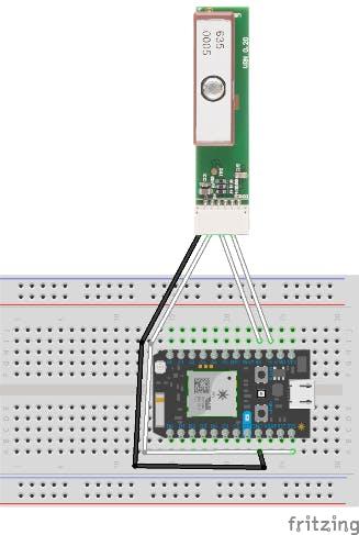 Wiring the Sparkfun GP-735 to the Photon