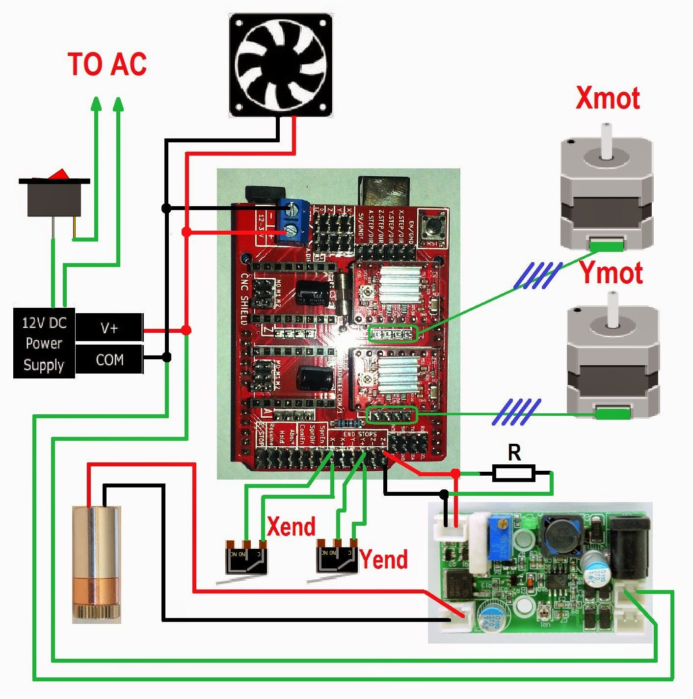 Clone Axis Motor Direction
