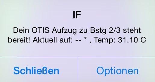 Rezept mit Notification - populäre IFTTT (IF APP) auf dem Smartphone