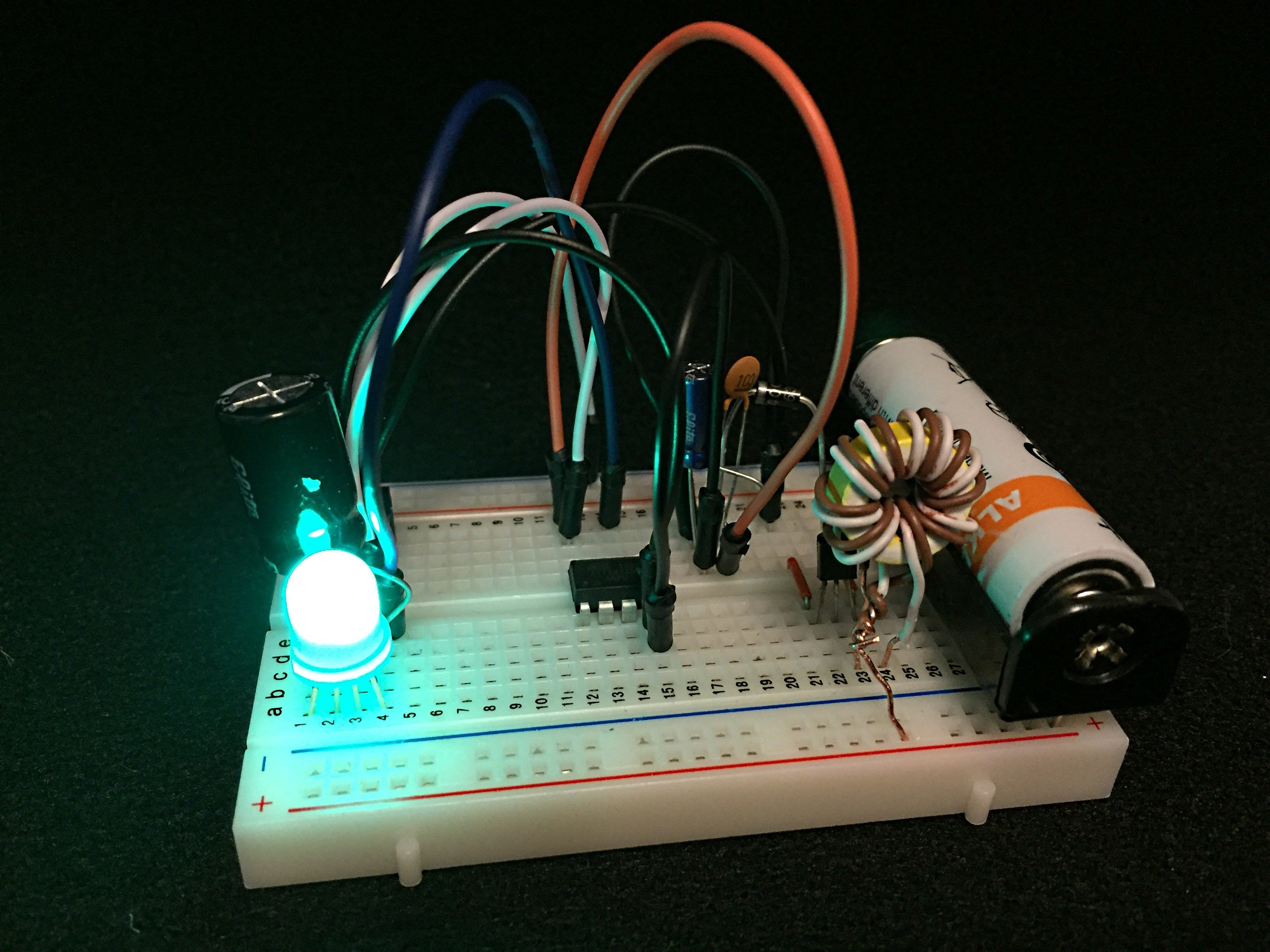 Circuit with the lights off