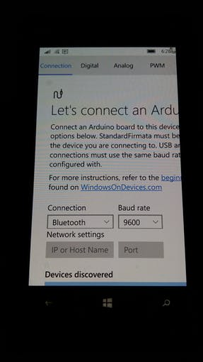 Connect Windows Phone to Bluetooth