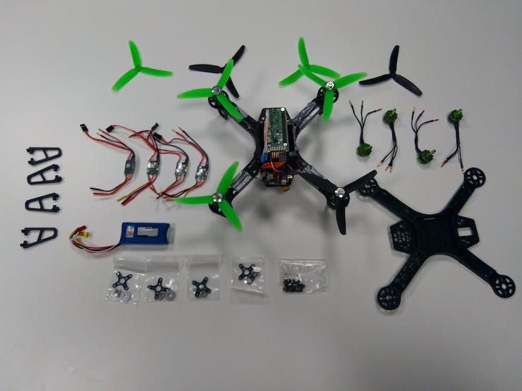 The Pi0drone and its components