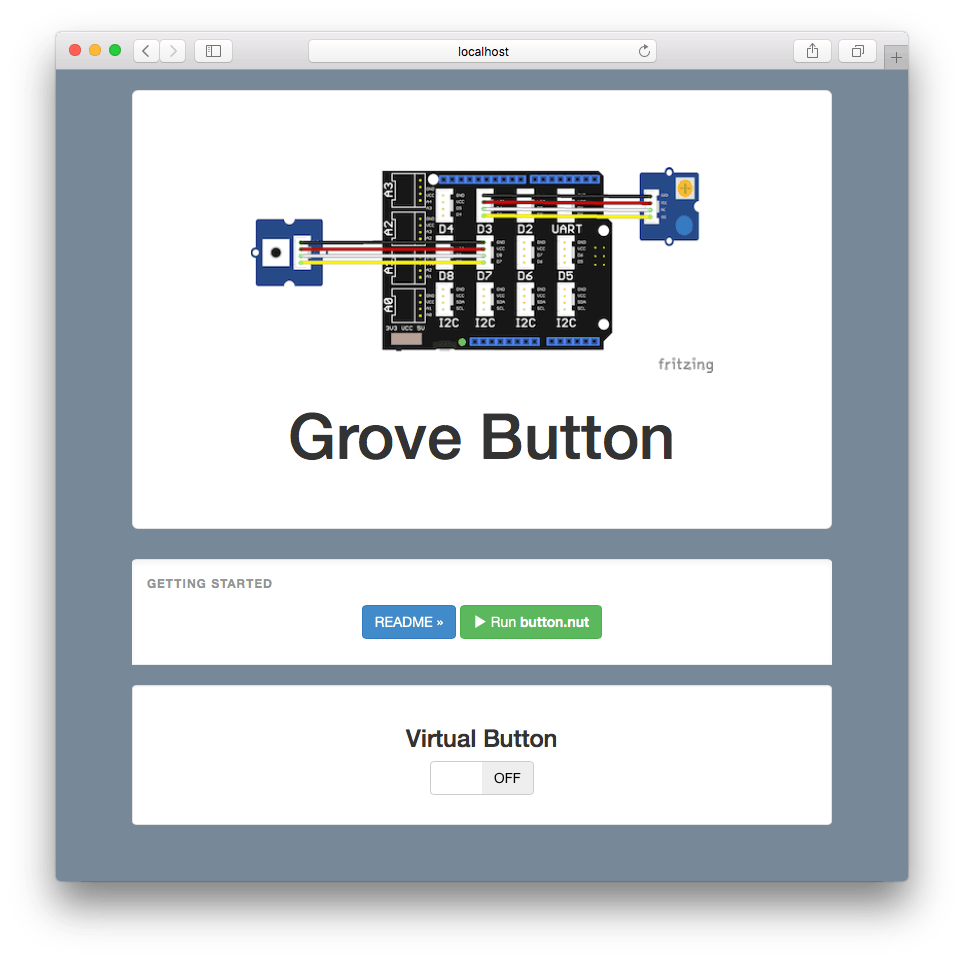 Controls an LED or relay with a button, touch sensor, or remotely from an web app