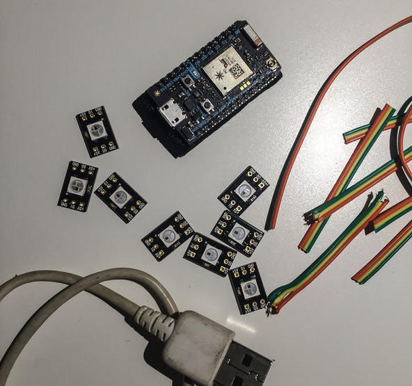 the hardware components