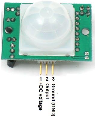 PIR motion sensor pin out