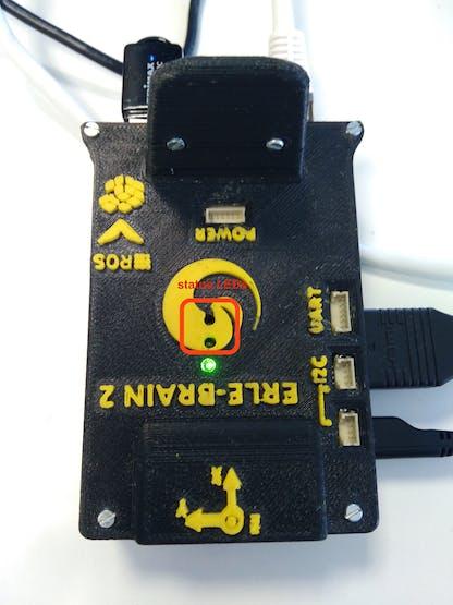 Erle-Brain 2 status LEDs