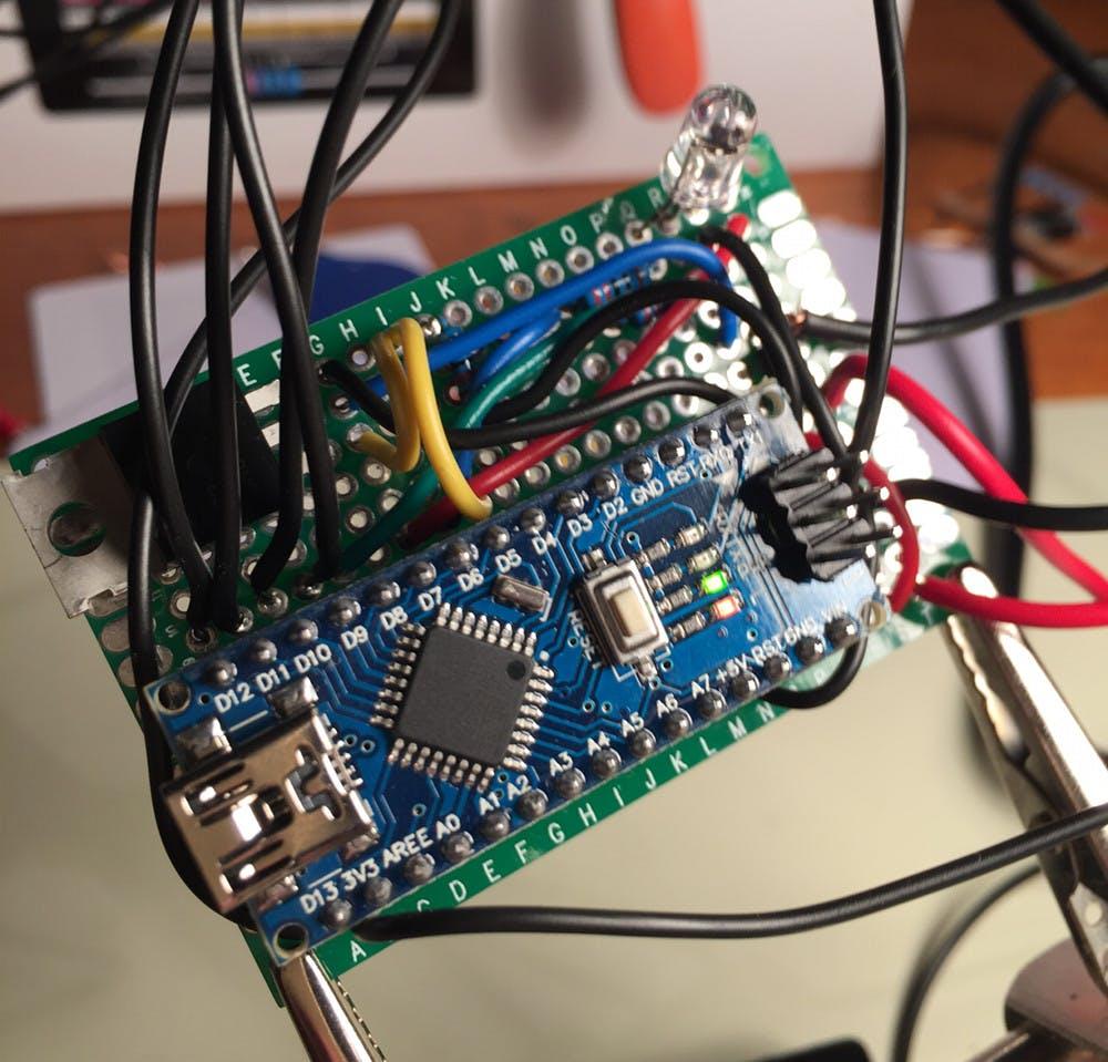 Board with Arduino Nano