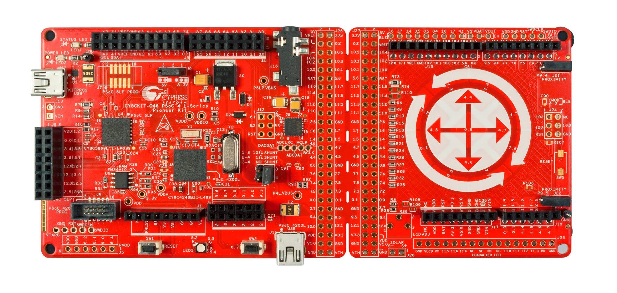 PSoC 4 L-Series Pioneer Kit