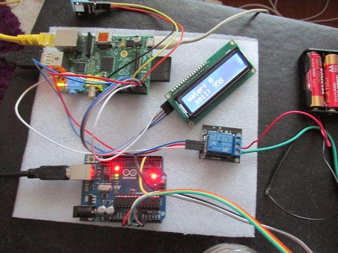 sensor values on lcd screen