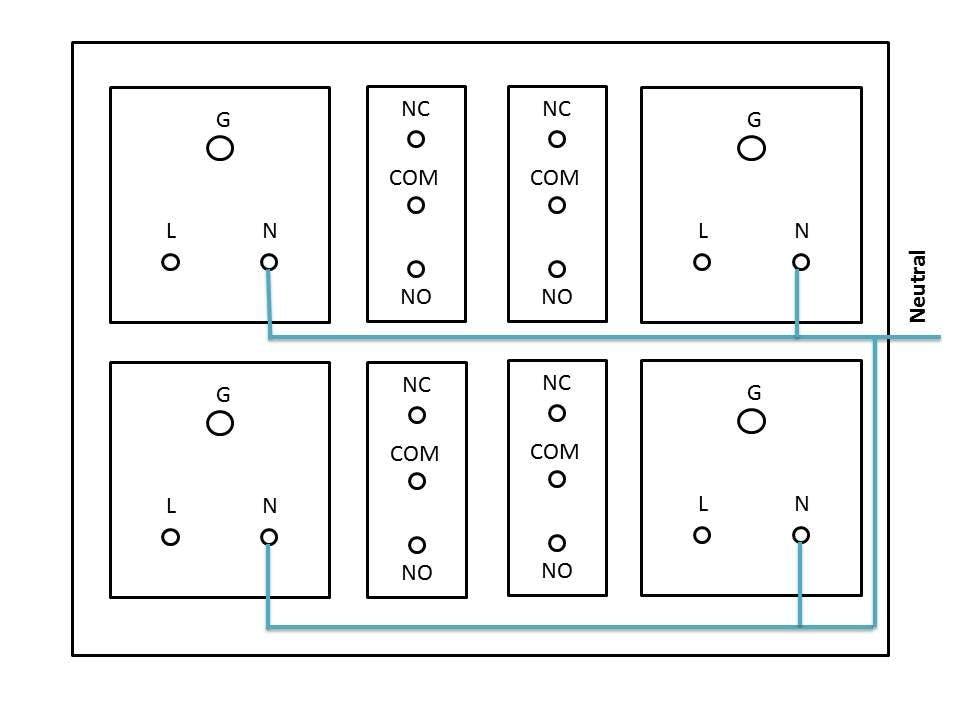 arduino nodemcu esp8266 wifi 4 relay switch board