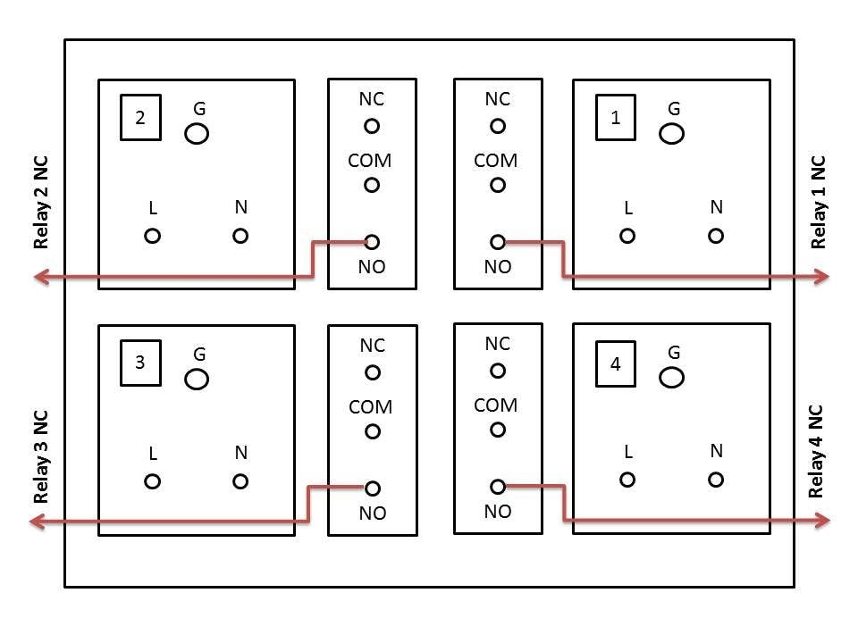 8 Pin Relay Wiring Diagram Normally Open 1 3 Wiring