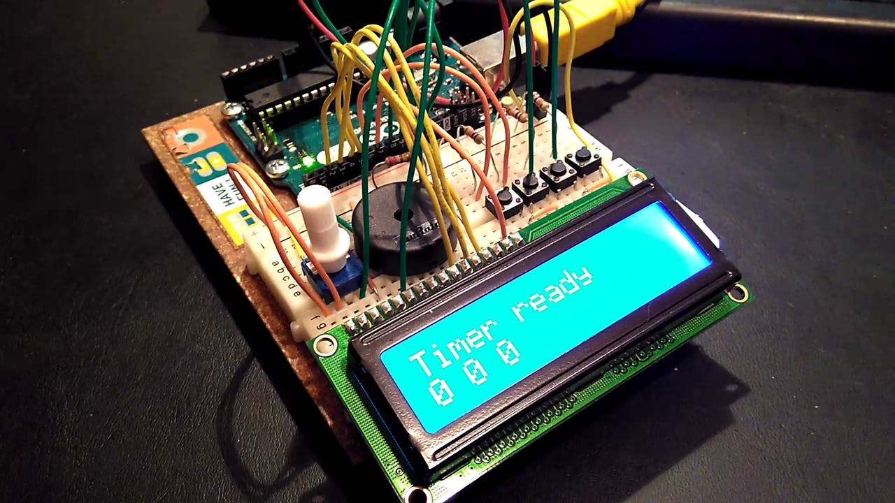 Arduino Kitchen Timer Digital Count Down Circuit Using Pic Microcontroller