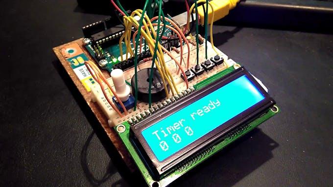 Arduino Kitchen Timer - Arduino Project Hub